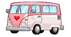 auto bus CV rosa cityville