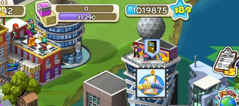 nivel 189 cityville